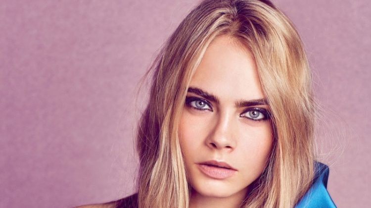 Cara Delevingne Works It in the Fall Collections for W Cover Story
