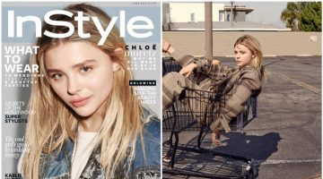 Chloe Grace Moretz Fronts InStyle UK, Reveals Why She Called Out Kim K