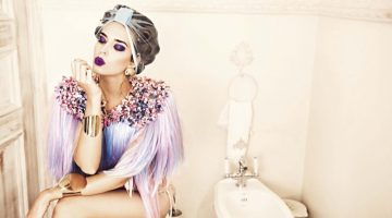 Clara Alonso Demonstrates a Chic Beauty Routine for Glamour Italy