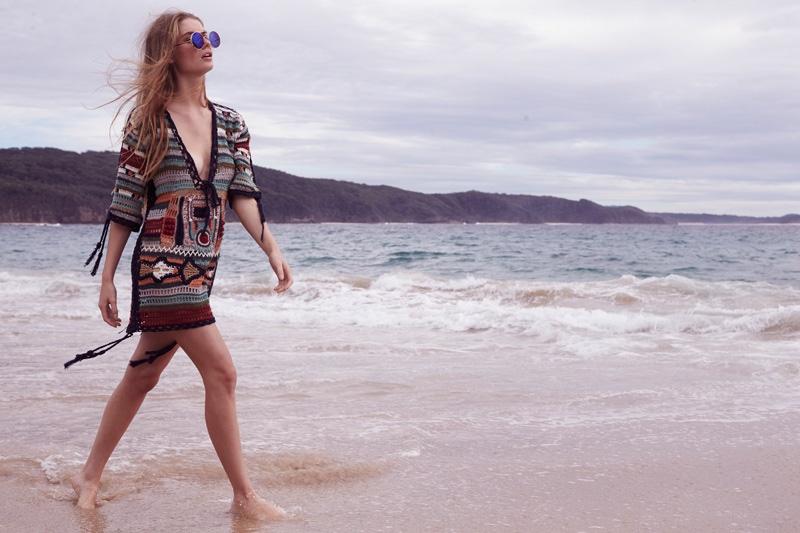 Annalise McLachlan stars in Cleobella's summer 2016 lookbook