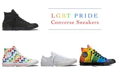 Celebrate LGBT Pride with Converse's New Rainbow Sneakers