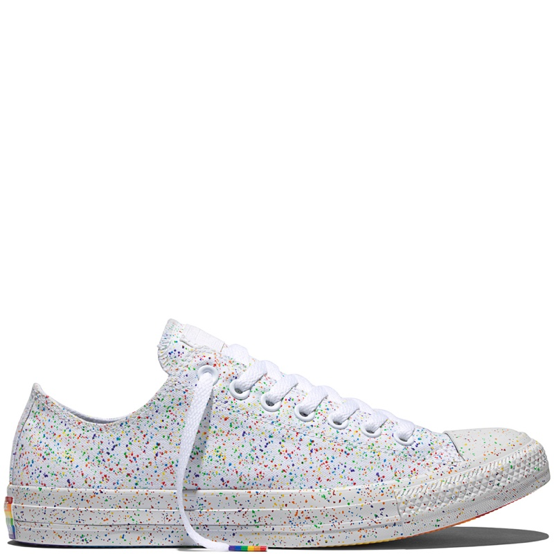 049c1cbc664f Converse Chuck Taylor All Star Pride Rainbow Glitter Low Tops