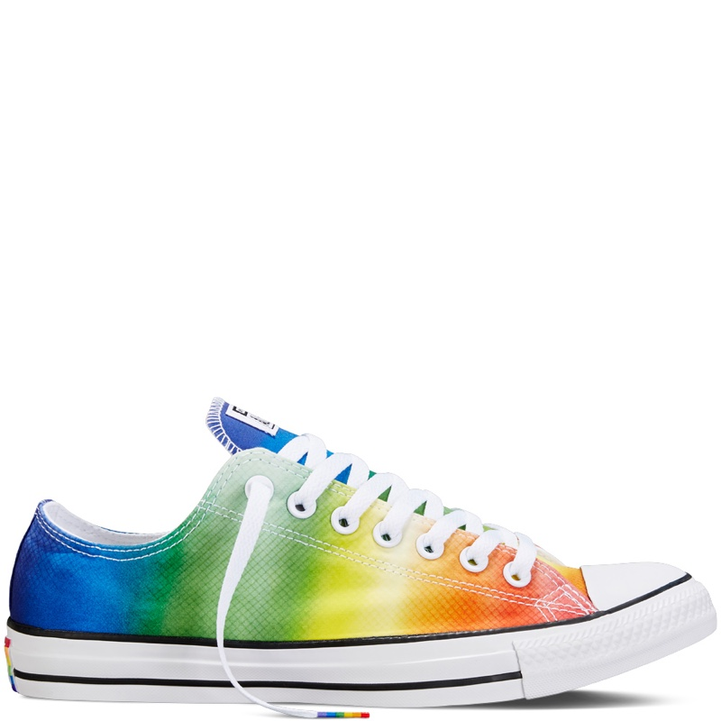 08ba6aafb74 ... Converse Chuck Taylor All Star Pride Rainbow Low Tops
