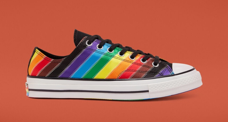 Converse Pride Chuck 70 Rainbow Sneaker $85