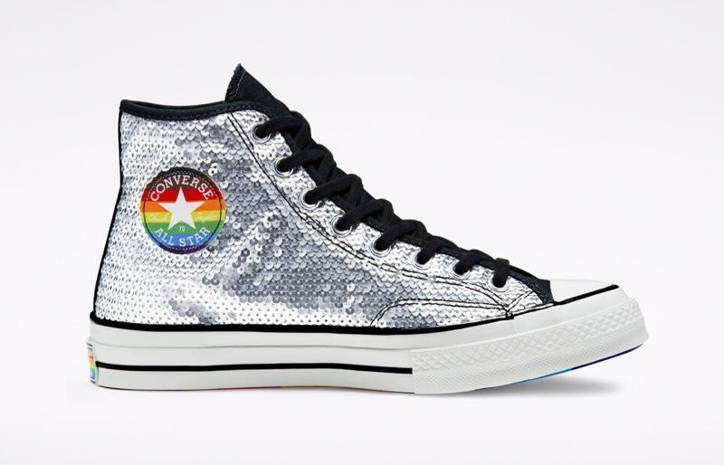 Converse Pride Chuck 70 Sequined Sneaker $90