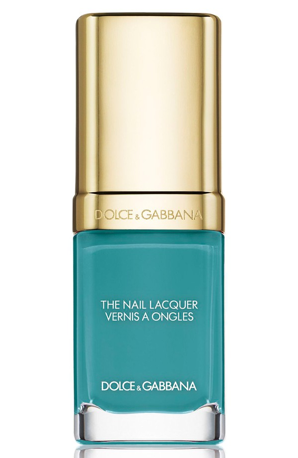 Dolce & Gabbana Liquid Nail Lacquer in Turquoise 718