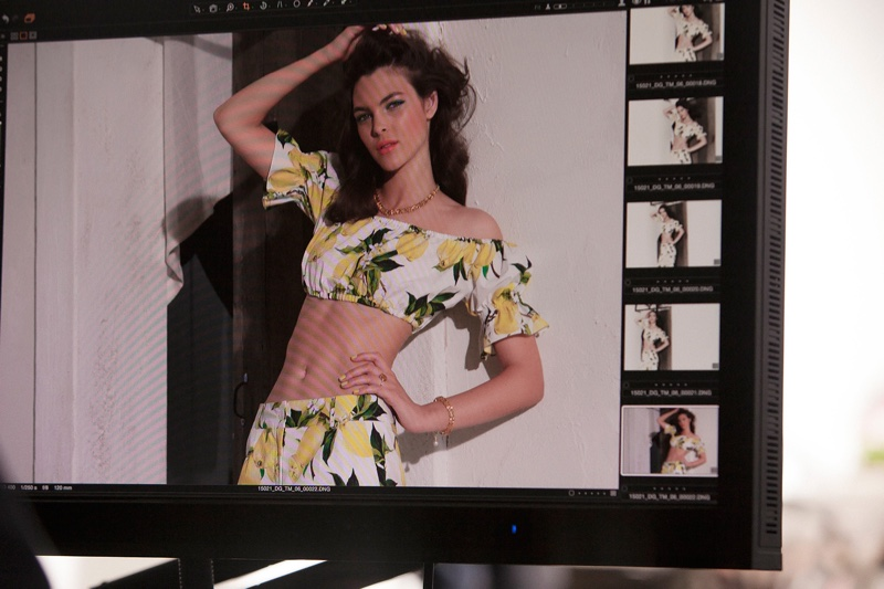 Dolce & Gabbana Summer in Italy makeup campaign behind the scenes