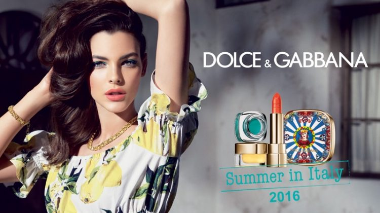 Dolce & Gabbana Goes Sultry with 'Summer in Italy' Makeup