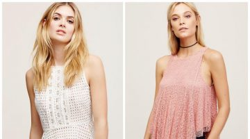 Bring on the Frills: 8 Pretty Tank Tops