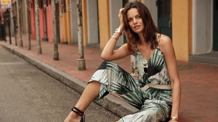 Barbara Fialho Brings a Latin Flair to Dynamite's Summer Campaign