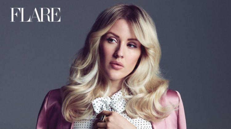 Ellie Goulding Stars in FLARE, Talks Being Slut Shamed on Social Media