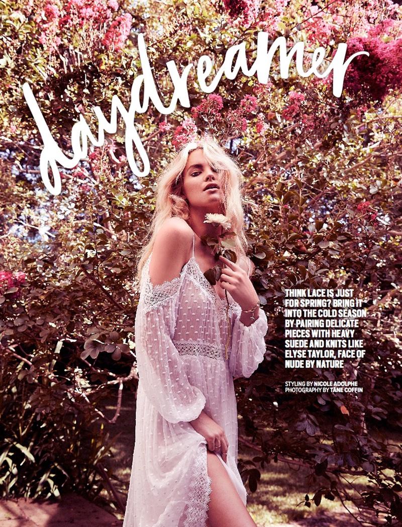 Elyse Taylor stars in Cosmopolitan Australia's June issue