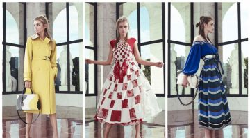 Fendi Turns Up the Graphics for Resort 2017