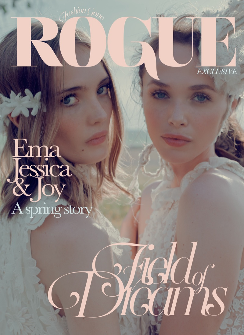 (Left) ERIN Erin Fetherston Twiggy Dress in White (Right) ERIN Erin Fetherston High Neck Lace Gown in White