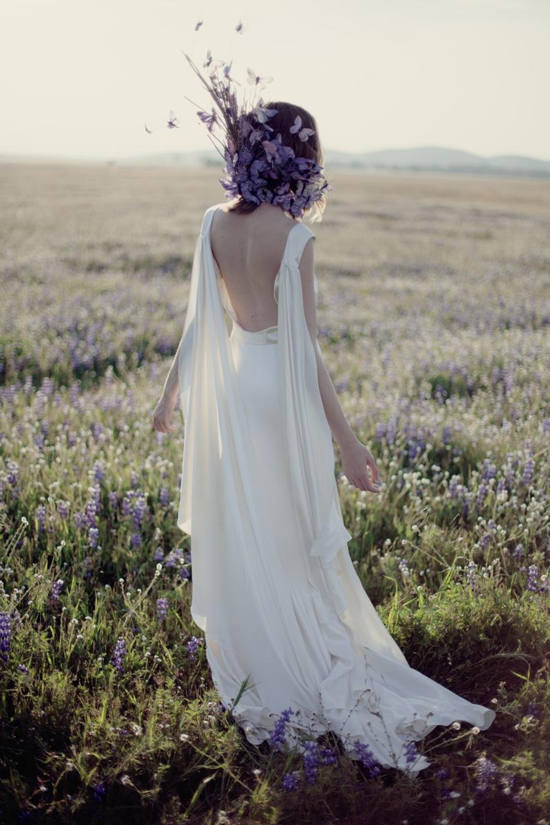 Gown Houghton available at LohoBride.com, Neck Piece Fauxtale