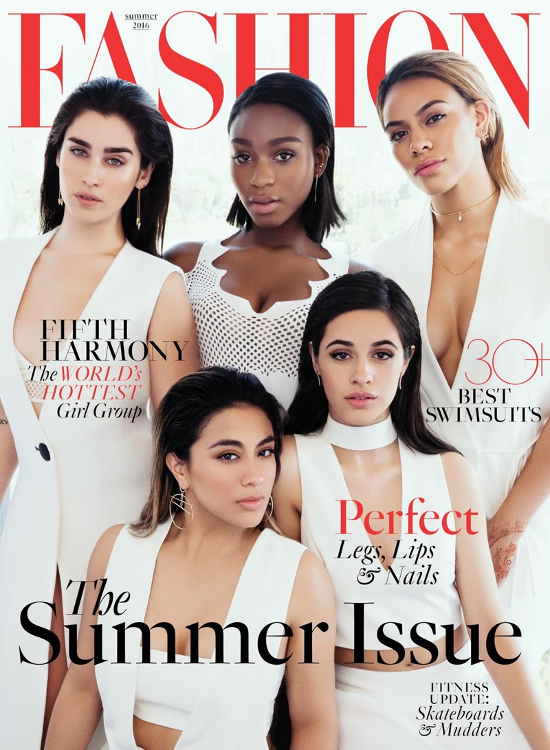 Fifth Harmony on FASHION Summer 2016 Cover