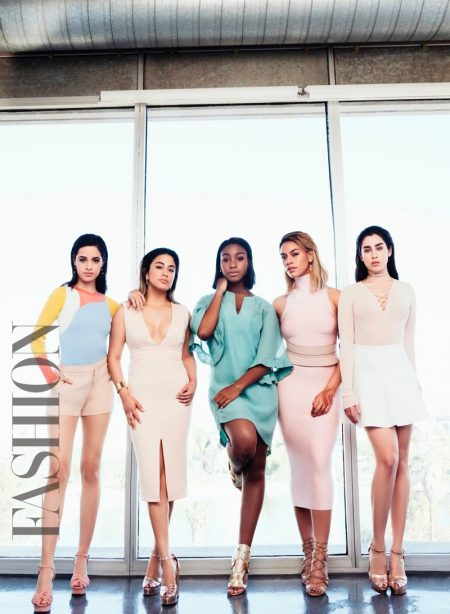 Girl Group Fifth Harmony Land FASHION's Summer Cover Story