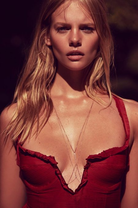 Marloes Horst Sizzles in For Love & Lemons' Latest Swimsuit Styles