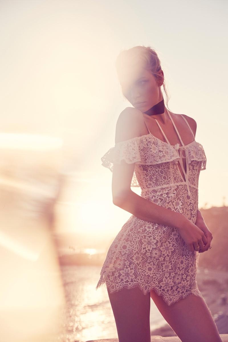 For Love & Lemons Rosemary lace dress