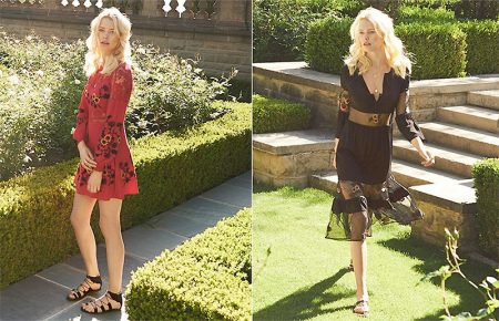 Head Outdoors in For Love & Lemons' Ultra-Feminine Dresses