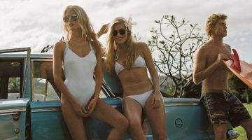 Free People Takes on Tropical Fashion for May Catalog