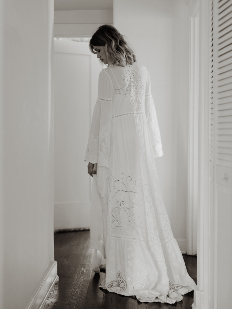 Spell and the Gypsy Collective Gwendolyn Wrap Gown