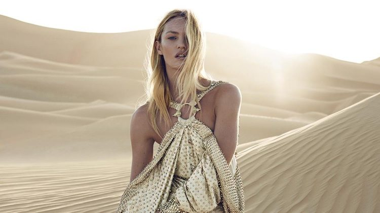 Candice Swanepoel Enchants as the Face of Givenchy's 'Dahlia Divin Le Nectar'