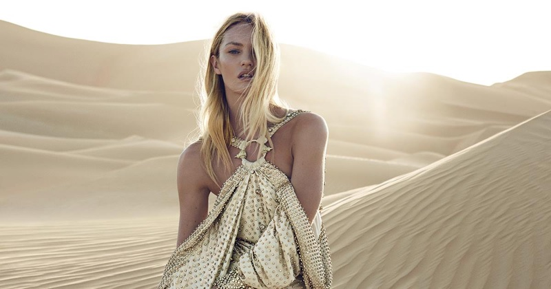 Candice Swanepoel has been announced as the face of Givenchy's Dahlia Divin Le Nectar fragrance