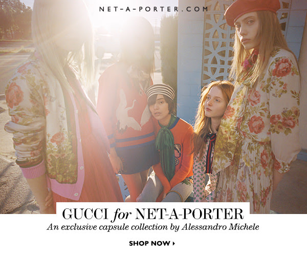 New arrivals: Gucci's exclusive Net-a-Porter capsule collection is here