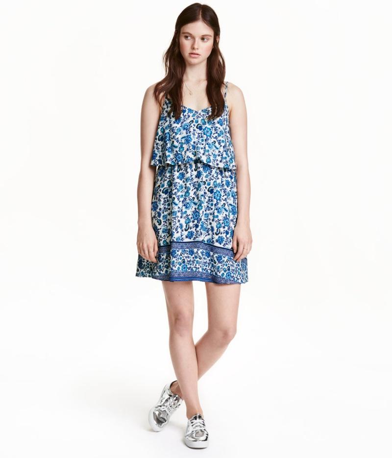 H&M Divided Sleeveless Dress