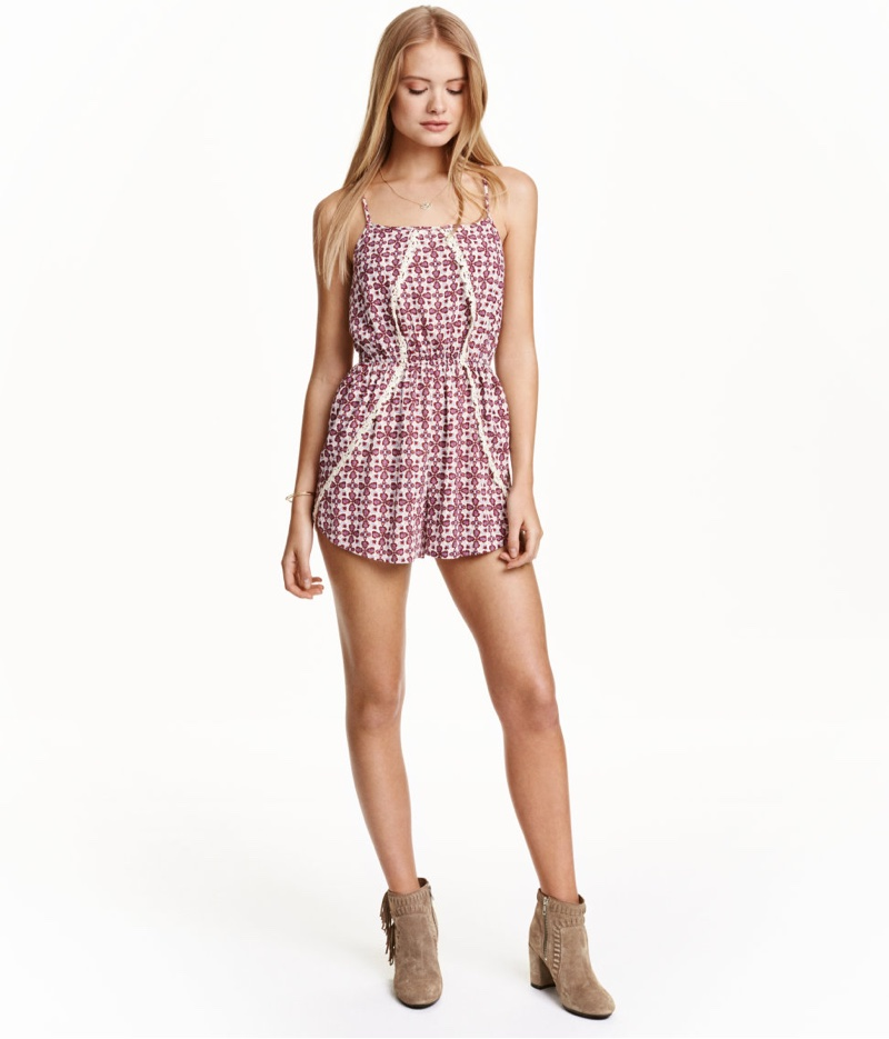 H&M Romper with Lace