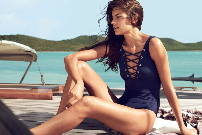H&M Swimsuit with Lacing