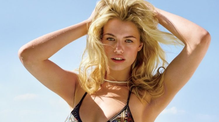 Hailey Clauson Poses in Miami for Swimsuit-Clad GQ Spread