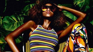 Imaan Hammam Models Spring's Hottest Fashions in Vogue Paris