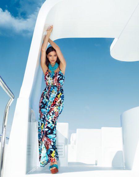 Irina Shayk Heats Up Bebe's Summer Campaign