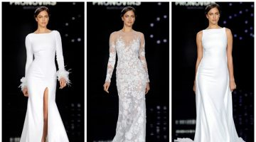 Irina Shayk Hits the Catwalk at the Pronovias Bridal Fashion Show
