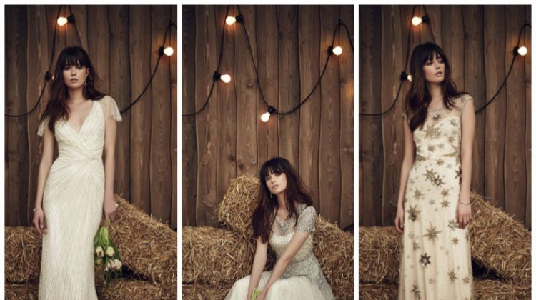 Jenny Packham Bridal Gives Western Vibes for Spring '17