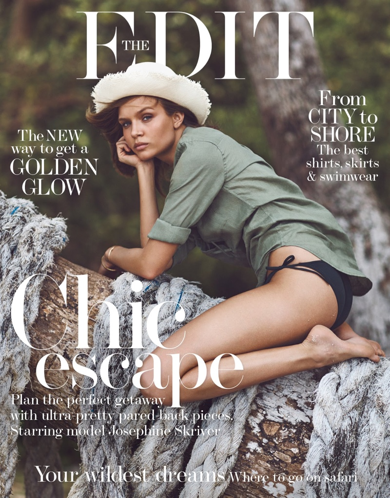 Josephine Skriver on The Edit May 26, 2016 Cover