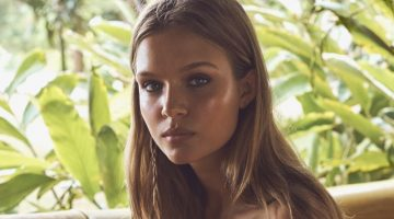 Josephine Skriver Models Beach Ready Fashions for The Edit