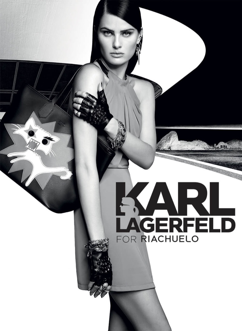 An image from the Karl Lagerfeld for Riachuelo fall-winter 2016 advertising campaign