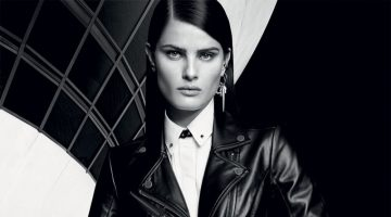 Isabeli Fontana is Rebel Chic in Karl Lagerfeld for Riachuelo Ads