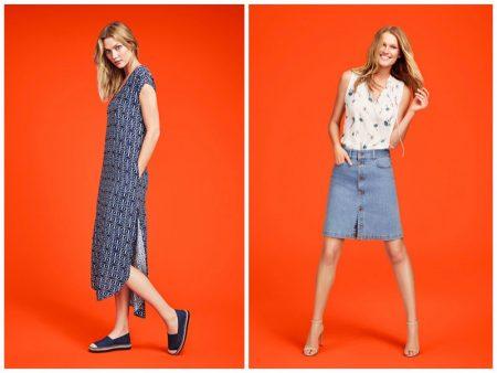 Karlie Kloss & Toni Garrn Shine in Joe Fresh's Summer Campaign
