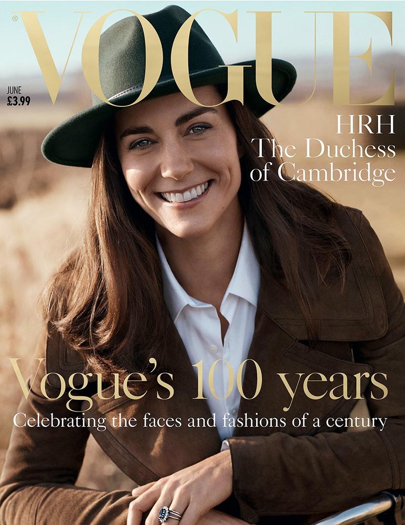 Kate Middleton on Vogue UK June 2016 Cover