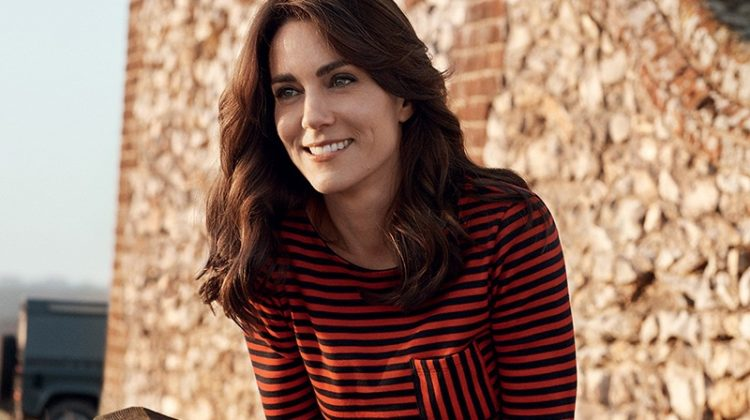 Kate Middleton Poses on Her First Magazine Cover for Vogue UK's 100th Anniversary Issue