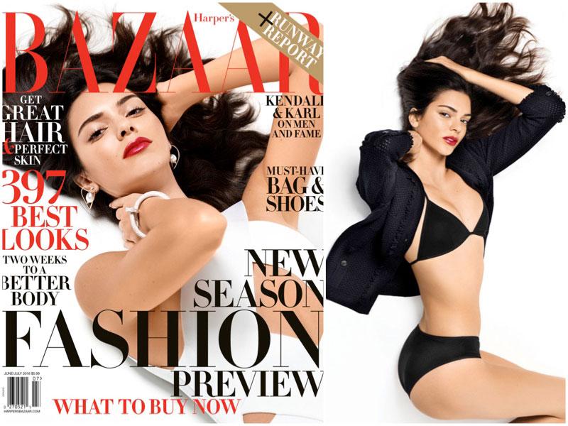 Kendall Jenner is Ready for Bikini Season on Her BAZAAR Cover