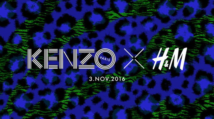Kenzo is H&M's Latest Designer Collab