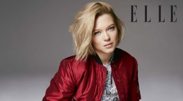 Lea Seydoux Stars in ELLE UK, Talks Going Naked on Film