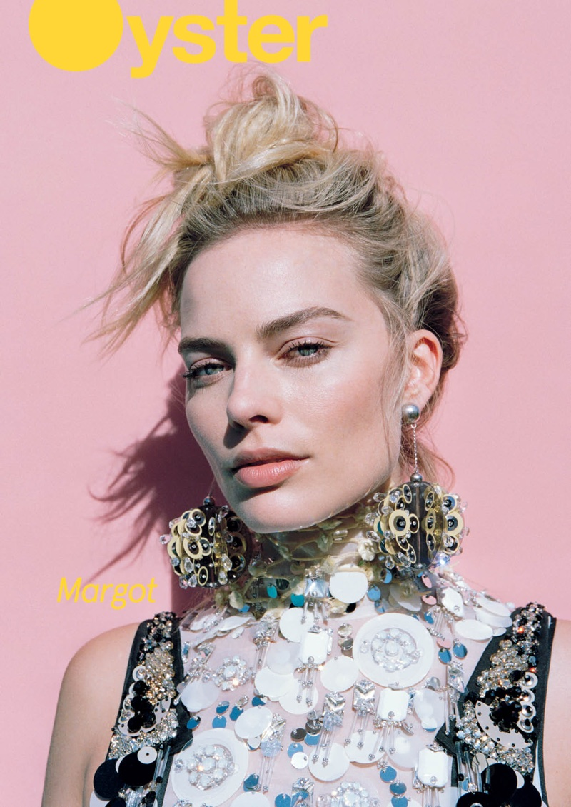 Margot Robbie on Oyster #108 Cover
