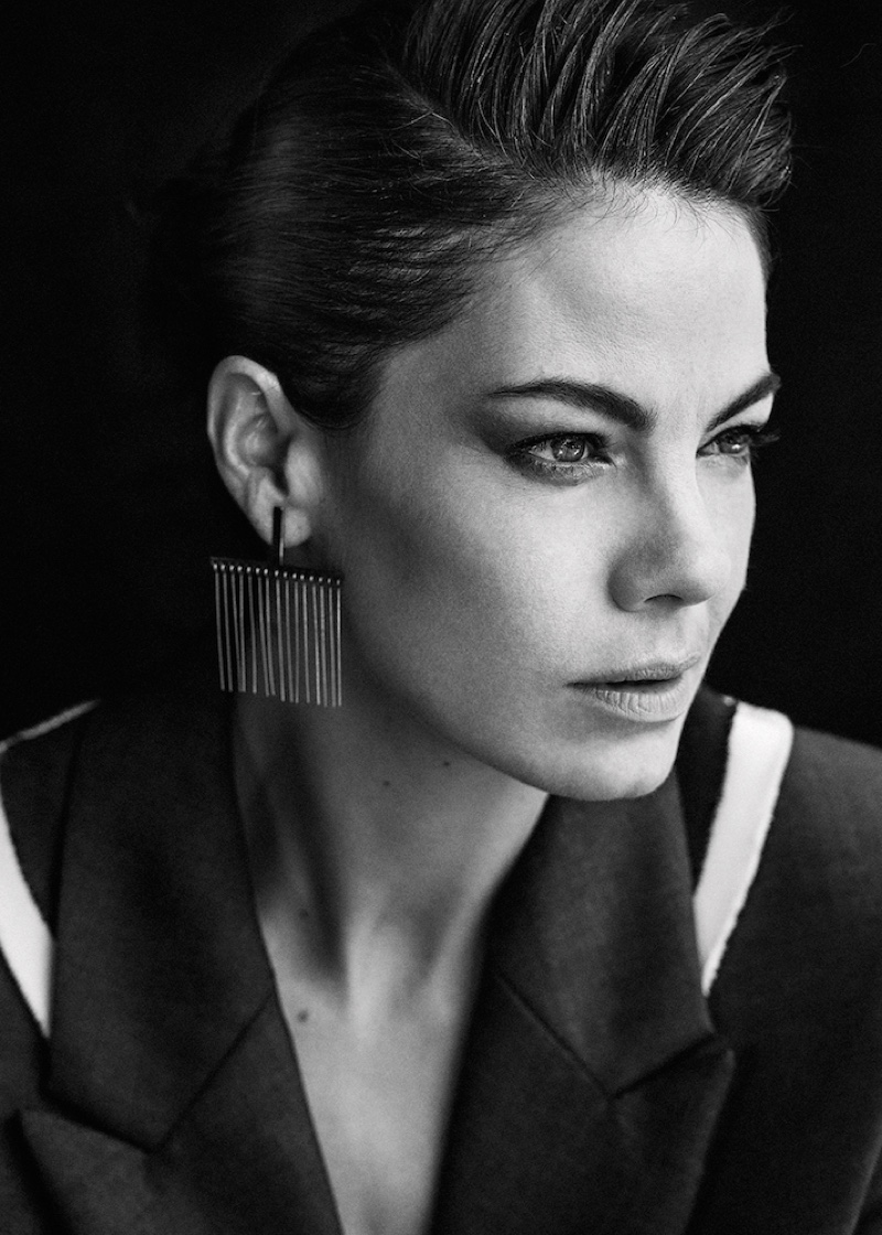 Michelle Monaghan poses for Interview Magazine online