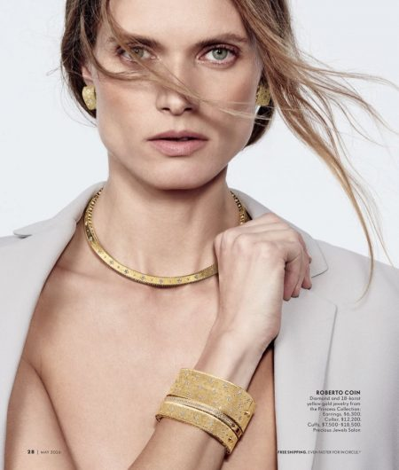 Malgosia Bela Shines in the Most Gorgeous Gems